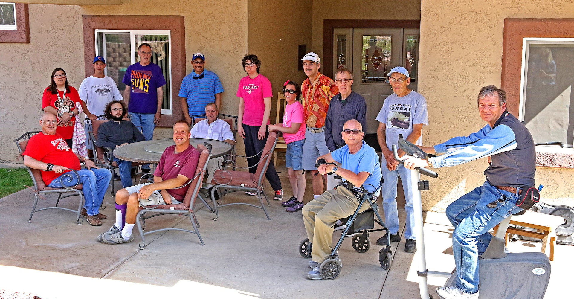 Our Resident Ranchers at Rainbow Acres, adults with developmental disabilities living at the ranch