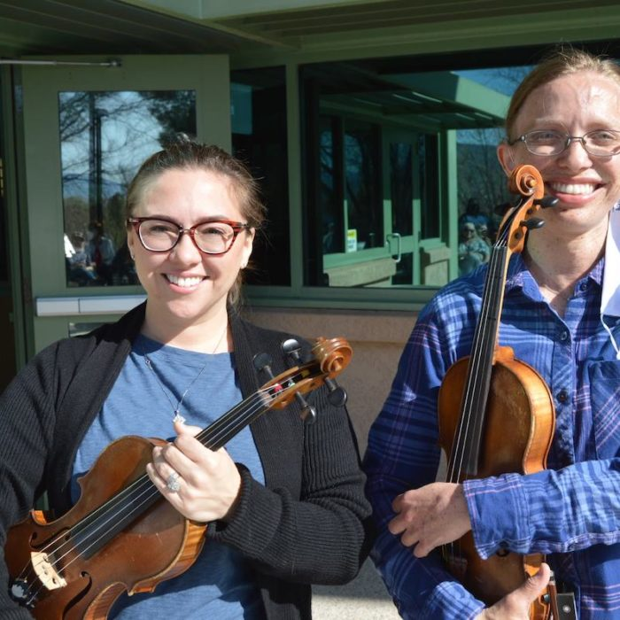 Rainbow Acres violinists at our 2021 Employee Appreciation Day Event