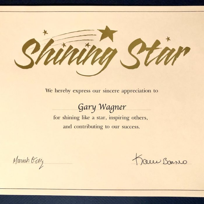 Gary Wagner Awarded Outstanding Executive Director of the Year 2021 by AZ ALFA